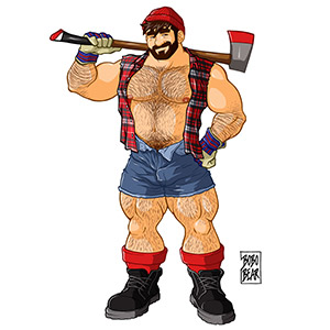 Bobo Bear: Adam likes lumberjacks
