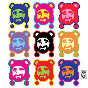 Bobo Bear - Adam likes pop art
