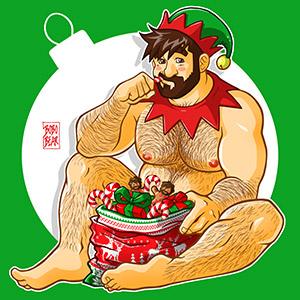 Bobo Bear: Adam likes Santa