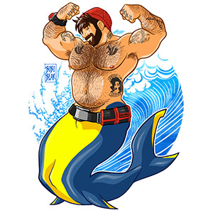 Bobo Bear - Adam likes scuba diving