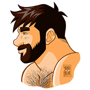 Bobo Bear - Adam profile - no background