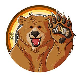 Bobo Bear - Bobo likes to woof - bear pride