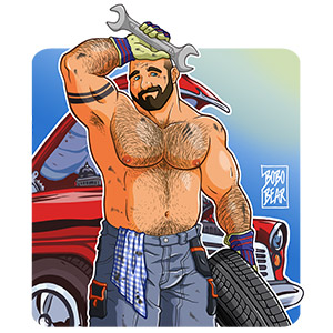 Bobo Bear: Carlos likes cars