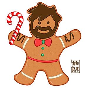 Bobo Bear - Gingerbread bear