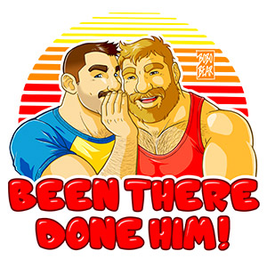 Bobo Bear - Mike and Tom - been there done him
