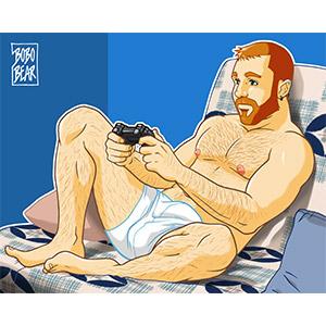 Bobo Bear - Toto likes videogames