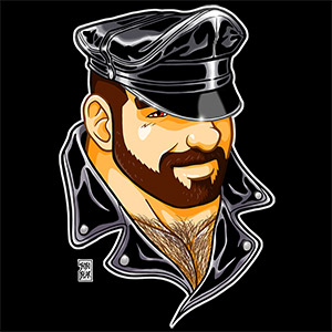 Bobo Bear: Adam likes leather