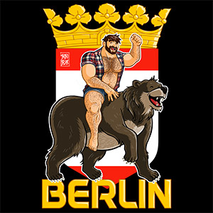 Bobo Bear - Adam likes Berlin bears