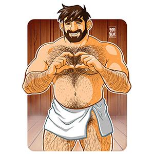 Bobo Bear: Adam likes saunas