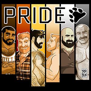 Bobo Bear - Bear Pride