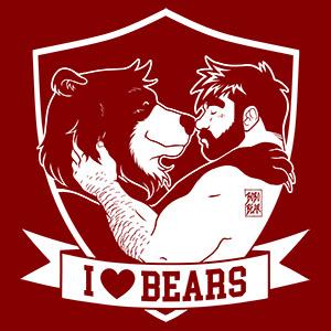 Bobo Bear - Adam and Bobo - I Love Bears
