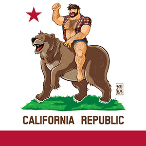 Bobo Bear - California Bears