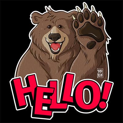 Bobo Bear - Bobo Hello